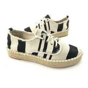 Dolce Vita DV Espadrille Platform Lace Up Shoes